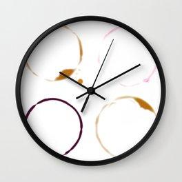 Beer Rings Wall Clock