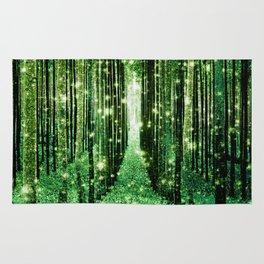 Magical Forest Green Elegance Rug