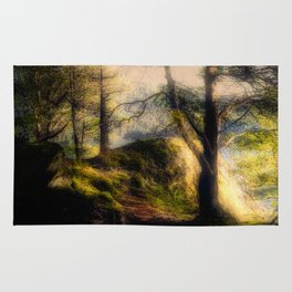 Misty Solitude, The Way Through The Woods Rug
