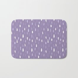 Stains Abstract Ultraviolet Bath Mat