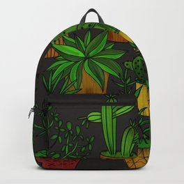 Plants and vases Backpack