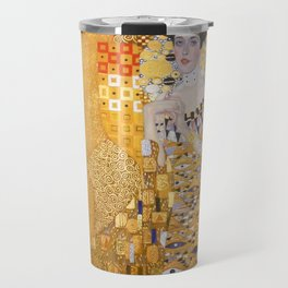 Gustav Klimt - The Woman in Gold Travel Mug