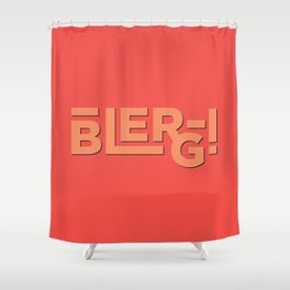 Blerg! An Ode to 30 Rock Shower Curtain
