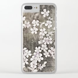 object of my affection Clear iPhone Case
