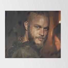 Ragnar Lothbrok Throw Blanket