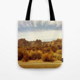 Desert Red Tote Bag