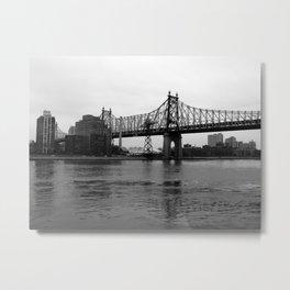 Queensboro Bridge, NY Metal Print