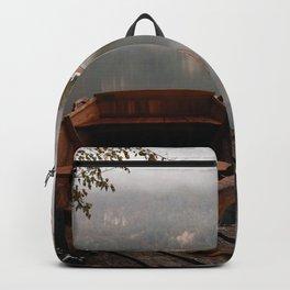 Bucolic landscape Backpack