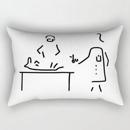 veterinarian veterinary medicine surgeon Rectangular Pillow