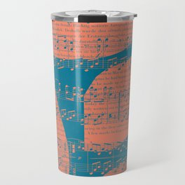 Schubert Sheet Music - Impromptu Travel Mug