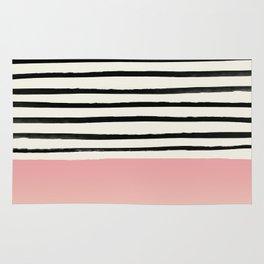 Blush x Stripes Rug
