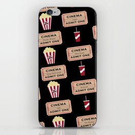 Let's Go to the Movie theatre iPhone Skin