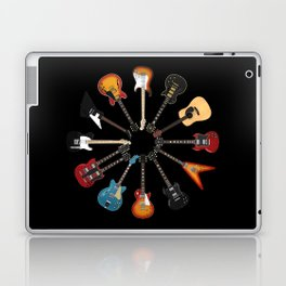 Guitar Circle Laptop & iPad Skin