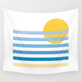 Sunset Ocean Wall Tapestry