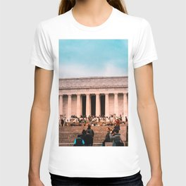 Lincoln Memorial building T-shirt