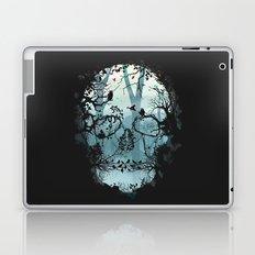 Dark Forest Skull Laptop & iPad Skin