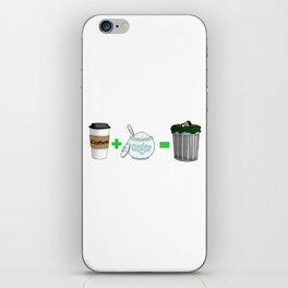 Coffee Math iPhone Skin