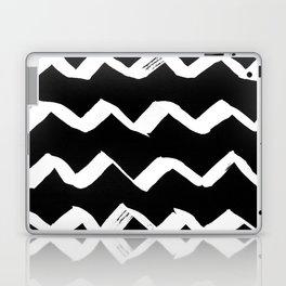 Ink Chevron(invert) Laptop & iPad Skin