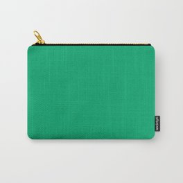 Jade Green Carry-All Pouch