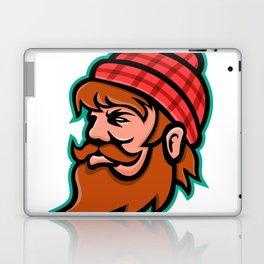 Paul Bunyan Lumberjack Mascot Laptop & iPad Skin
