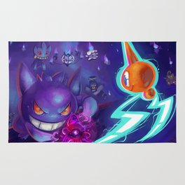 Ghost type battle Rug