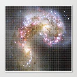 Pixel Nebula Canvas Print