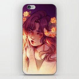 Yellow petals iPhone Skin