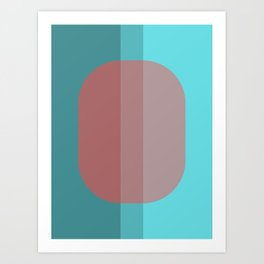 Blending In Art Print