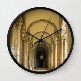 Enfilade of Royal palace, Madrid Wall Clock