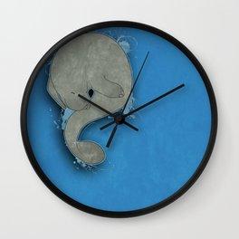 Manatee Wall Clock