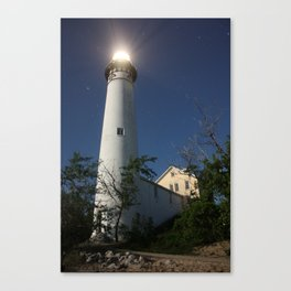 South Manitou Island Lighthouse Canvas Print