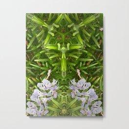 Rosemary Fairy Ring Metal Print