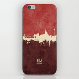 Cologne (Köln) Germany Skyline iPhone Skin