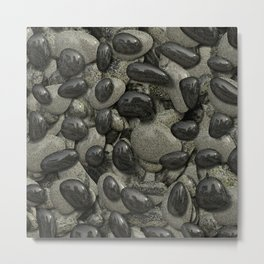 Stones 003 Metal Print