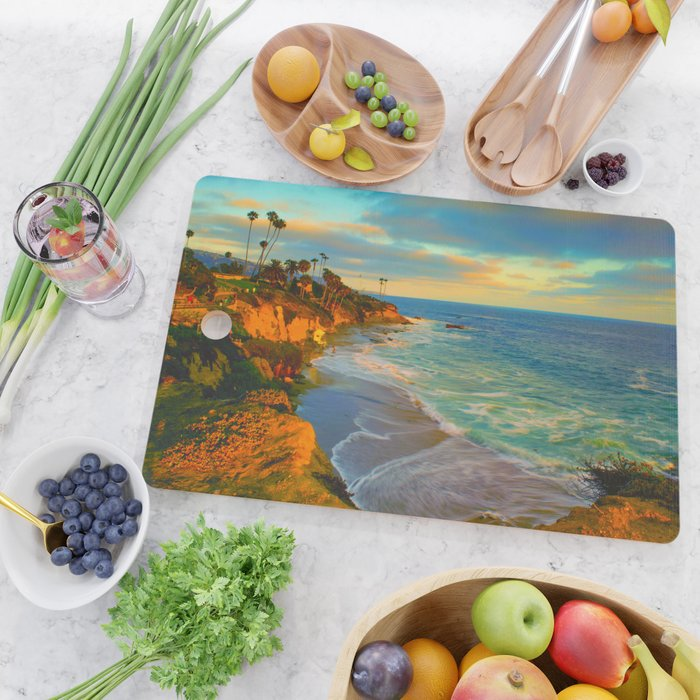 Laguna Beach California Cutting Board