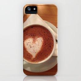 Love Hot Chocolate iPhone Case