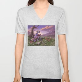 Fancy Unisex V-Neck