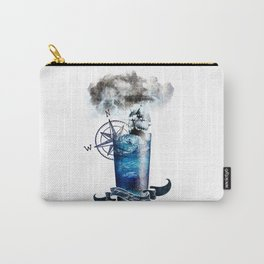 Tempestade num Copo de água - Storm in a glass of water Carry-All Pouch