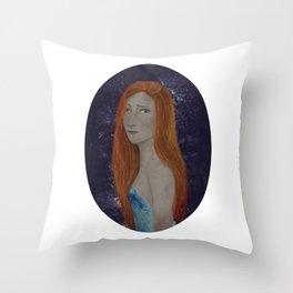BTATO_Sad Girl Throw Pillow