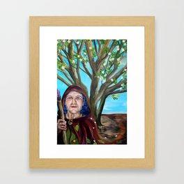 Afallen. My Apple Tree, My Brightness.  Framed Art Print