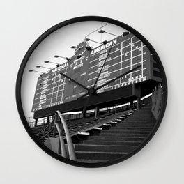 Wrigley Field Wall Clock