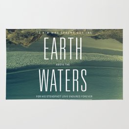 Earth//Waters Rug