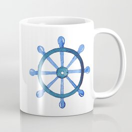 Navigating the seas Coffee Mug