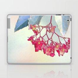 HANGING PINK BEGONIA Laptop & iPad Skin