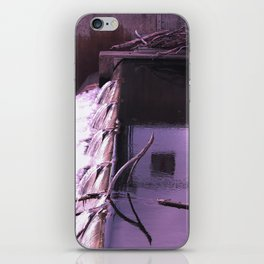 the waterfall of breslau iPhone Skin
