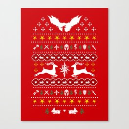 NUGly Christmas Sweater Canvas Print