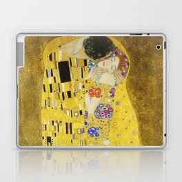 The Kiss - Gustav Klimt, 1907 Laptop & iPad Skin