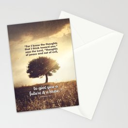 Jeremiah 29:11 Stationery Cards