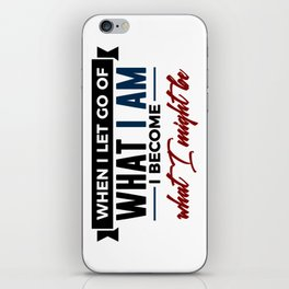 Realize Your Potential iPhone Skin