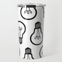 Simple Light Bulb Travel Mug